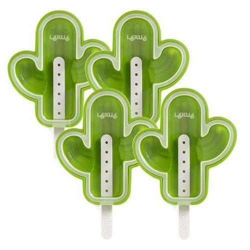 Zestaw foremek do lodów na patyku kaktus xl 4 szt marki Lekue