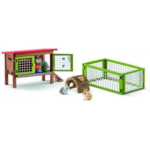 Schleich zestaw figurek zagroda dla króliczków 42420 (4055744020612)