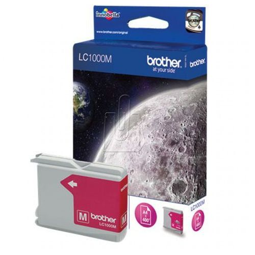 Tusz Brother LC1000M /DCP-350C/ magenta, 68223