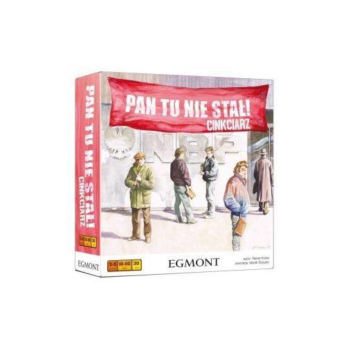 Egmont Pan tu nie stał! cinkciarz. rodzinna gra planszowa
