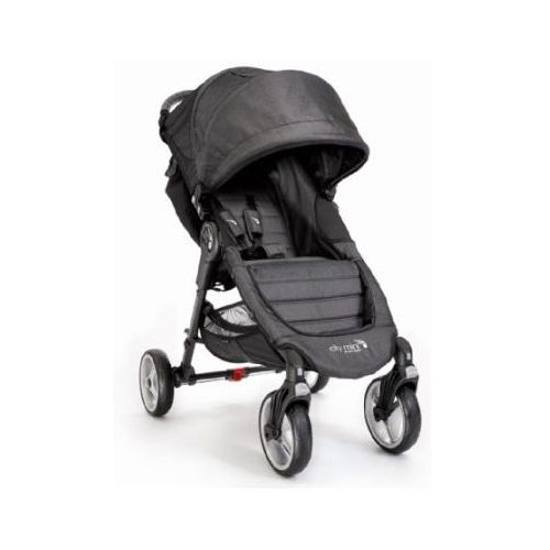 wózek spacerowy city mini 4-kołowy charcoal marki Baby jogger