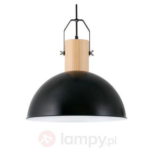 Faro barcelona Faro margot lampa wisząca czarny, ciemne drewno, 1-punktowy - nowoczesny - obszar wewnętrzny - margot - czas dostawy: od 8-12 dni roboczych (8421776084261)