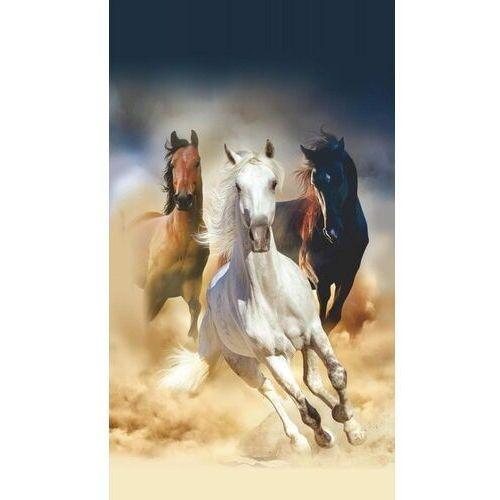 Ag design zasłona konie 140 x 245 cm 1 szt