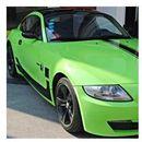 Folia lux polymeric zielony szer. 1,52m mpw54 marki Grafiwrap