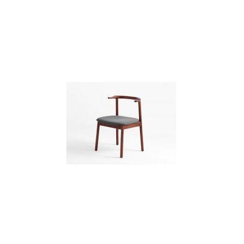 Krzesło drewniane Customform KUBRIK- orzech (2010000058794)