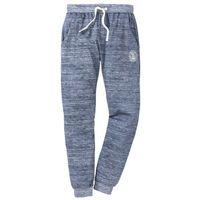Bonprix Spodnie sportowe niebieski melanż