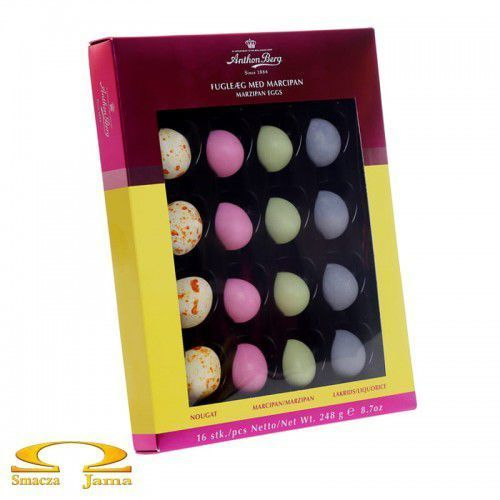 Anthon berg Czekoladowe pisanki marzipan eggs 248g (5774540973906)
