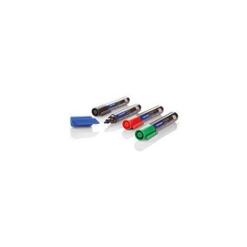 Magnetoplan Markery suchościeralne + flipchart mix 4kol