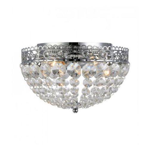 Plafon LAMPA sufitowa SAXHOLM 106062 Markslojd OPRAWA kryształowa IP21 crystal chrom przezroczysta