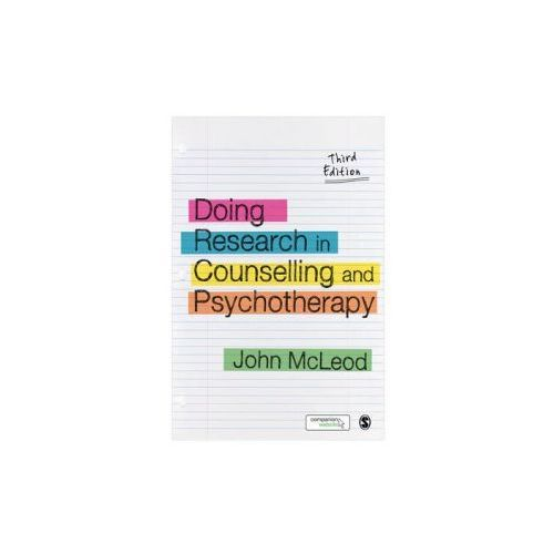Doing Research in Counselling and Psychotherapy (9781446201398)