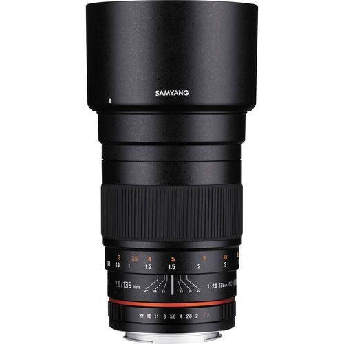 135mm f 2.0 ed umc ae nikon - produkt w magazynie - szybka wysyłka! marki Samyang