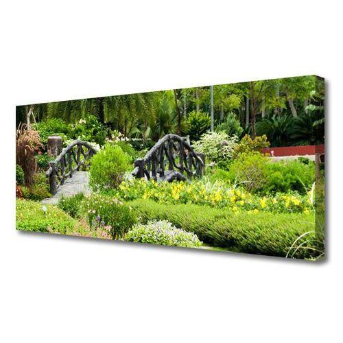 Obraz na płótnie ogród botaniczny most natura marki Tulup.pl