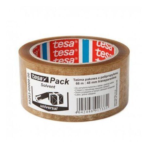 Tesa Taśma pakowa 48mm*66m solvent transparentna