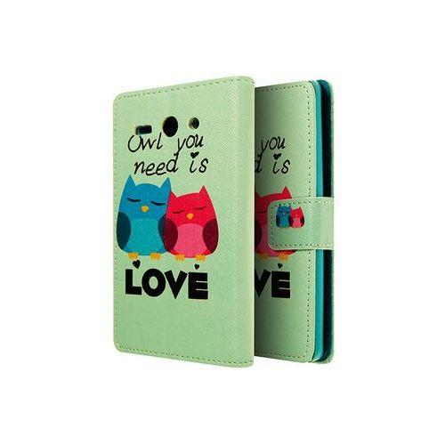 4kom.pl Etui ochronne dla huawei ascend y530 owl you need is love - owl you need is love