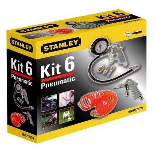 6-częściowy zestaw do kompresorów marki Stanley