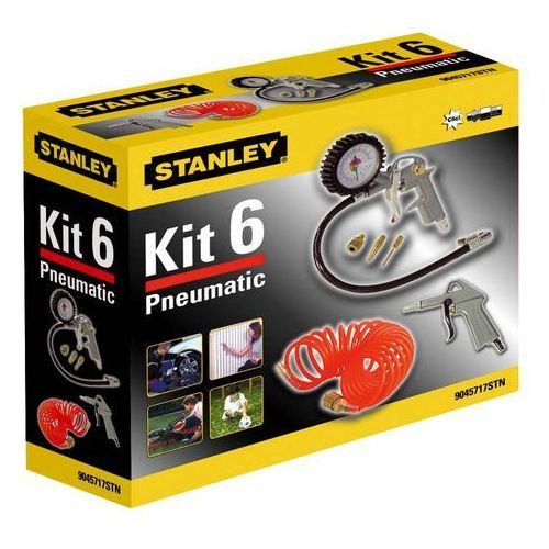 Stanley 6-częściowy zestaw do kompresorów (8016738714722)