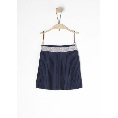 spódnica dziewczęca 104 ciemnoniebieska marki S.oliver