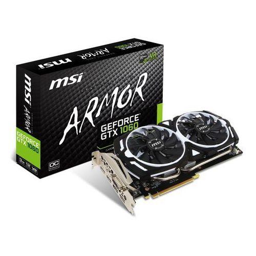 MSI GeForce GTX 1060 ARMOR 3G OCV1 3GB DDR5 192bit (4719072479800)