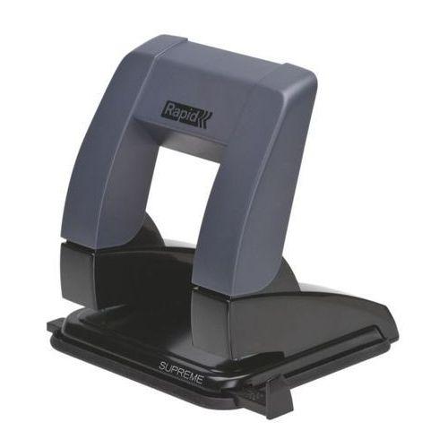 Dziurkacz  supreme pressless sp20, 24845401 – czarny marki Rapid