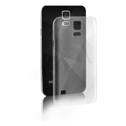 """Qoltec Etui do telefonu 51250 5,1"""" na Samsung Galaxy S5 I9600 Przezroczysty"""