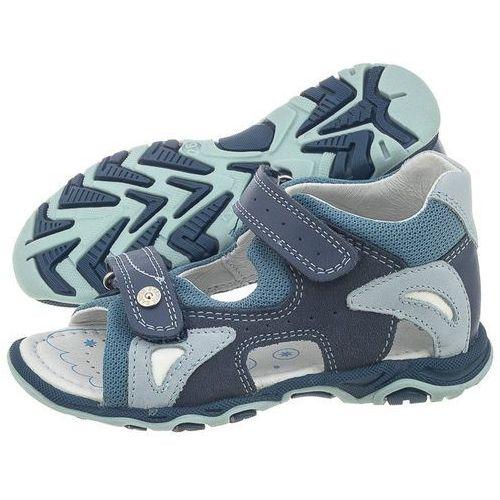 Sandałki niebieskie 81455-0px (ba38-a) marki Bartek