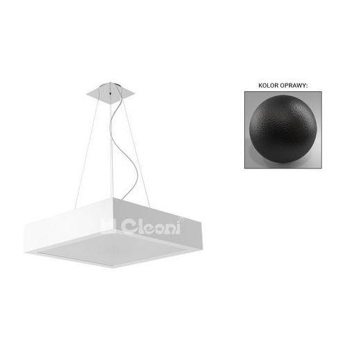 Cleoni Lampa wisząca nekla 400x400 4x60w e27 czarny mat 1152w1116
