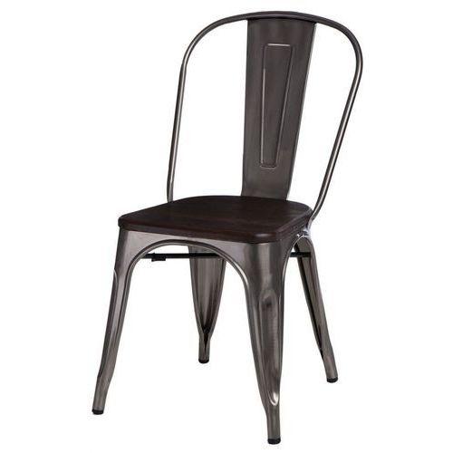 Krzesło Paris Wood sosna szczotkowana