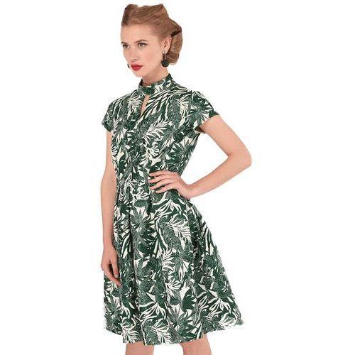 Closet London damska sukienka 38 zielona (5052508479128)