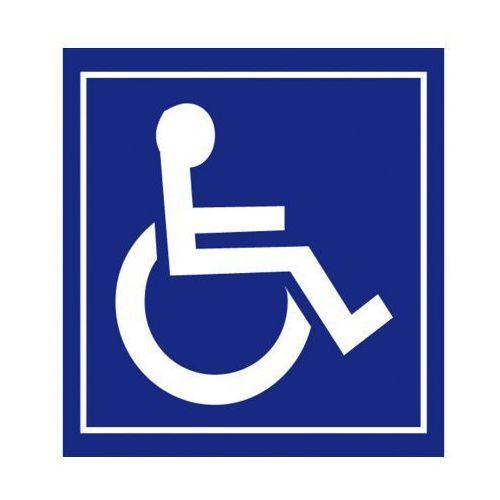 B2b partner Samoprzylepna folia na drzwi - niepełnosprawni