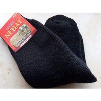 Skarpety rozgrzewające wełniane (80%) thermal - rozm. 40-44 czarne marki Nebat (turcja)