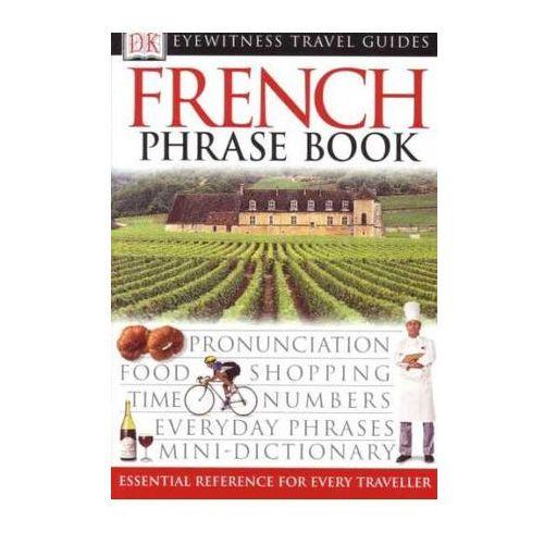 Francja rozmówki Dorling Kinderslay French Phrasebook, oprawa miękka