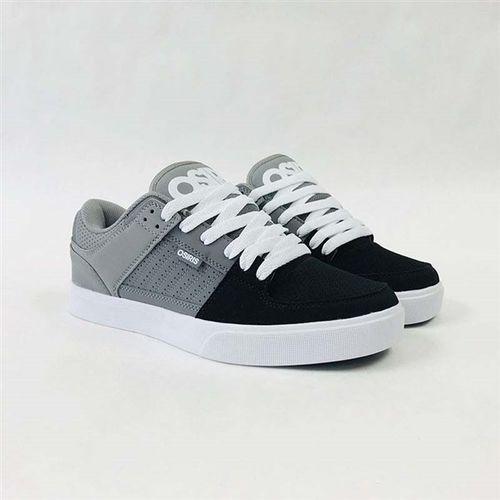 buty OSIRIS - Protocol Grey/Charcoal/Black (2618) rozmiar: 45, kolor czarny
