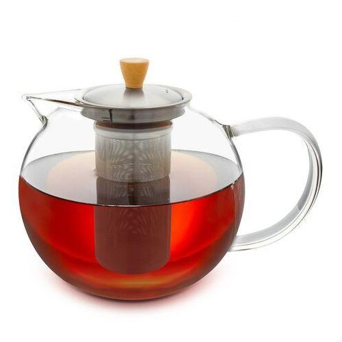 Klarstein glaswerk sencha, imbryk do herbaty, 1,8 l, wkład z sitkiem ze stali nierdzewnej, szkło borokrzemowe, pokrywka (4270001364319)