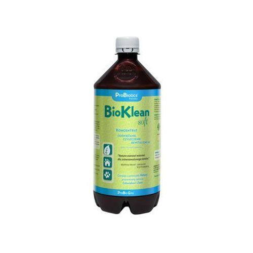 Bioklean soft - ekologiczny koncentrat probiotyczny do sprzątania - 1 litr bioklean soft - czyszczenie ekologiczne marki Probiotics polska sp z o.o.