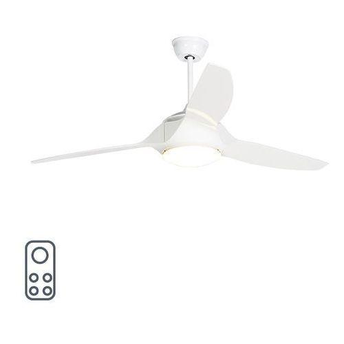 Wentylator sufitowy LED biały z pilotem - Marin 56