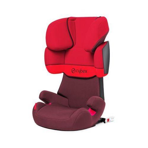 Cybex solution x fix fotelik samochodowy rumba red marki Cybex silver