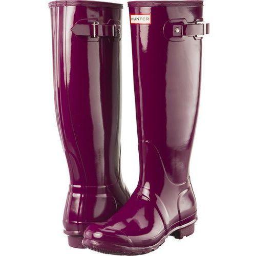 Hunter Kalosze wmn org tall gloss wft1000rgl violet violet