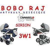 Wózek głęboko spacerowy firmy model sirion + fotelik pebble 0-13 kg marki Camarelo