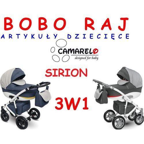 Wózek głęboko spacerowy firmy model sirion + fotelik 3w1 odbierz swój rabat tylko dzisiaj! marki Camarelo