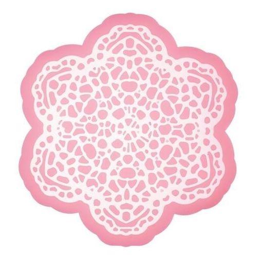 Kitchen craft - szablon silikonowy do lukru koronkowy kwiat (5028250573728)
