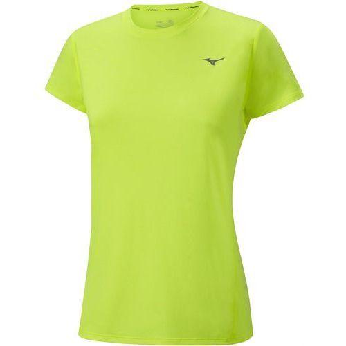 Mizuno koszulka treningowa impulse core tee w safety yellow s