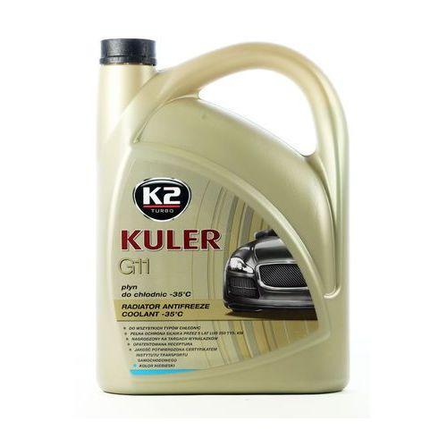 K2 Płyn do chłodnicy kuler - niebieski 5 litrów -35°c