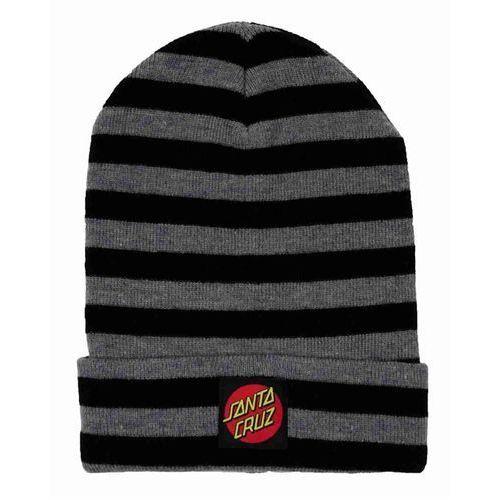 czapka zimowa SANTA CRUZ - Creeper Beanie Heather Black (HEATHER BLACK) rozmiar: OS, kolor czarny