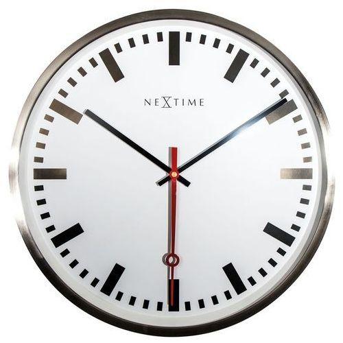 Nextime - zegar ścienny super station
