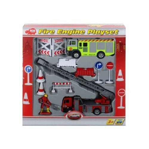 Zabawka DICKIE Zestaw samochodów Straży Pożarnej (4006333032189)