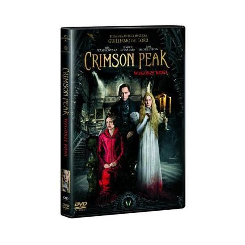Crimson Peak Wzgórze krwi - Matthew Robbins, Guillermo del Toro OD 24,99zł DARMOWA DOSTAWA KIOSK RUCHU - OKAZJE