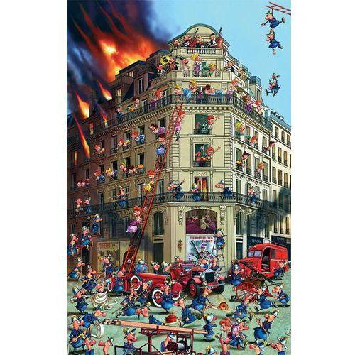 Piatnik Puzzle ruyer straż pożarna 1000