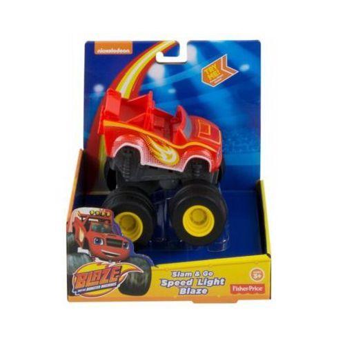 Hot wheels Monster blaze naciśnij i jedź - darmowa dostawa od 199 zł!!!