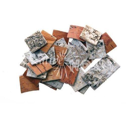 Mozaika brzozowa kwadrat 25x25 mm - 450 szt. - 25X25MM (70634025)