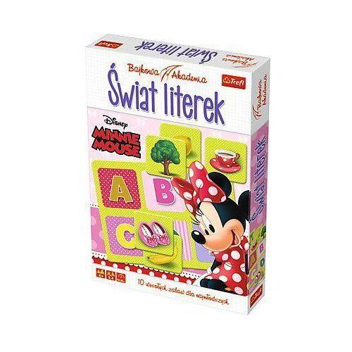 Trefl Gra Bajkowa Akademia Świat Literek Minnie Mouse (5900511013382). Najniższe ceny, najlepsze promocje w sklepach, opinie.